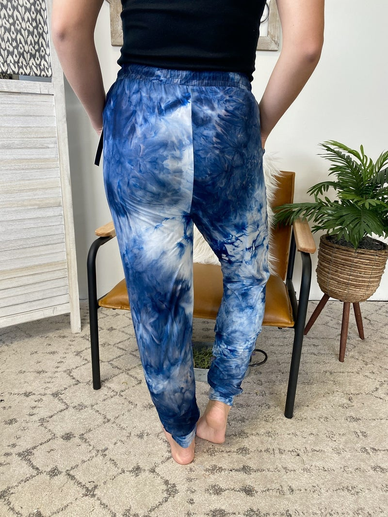 All About Tie Dye Joggers