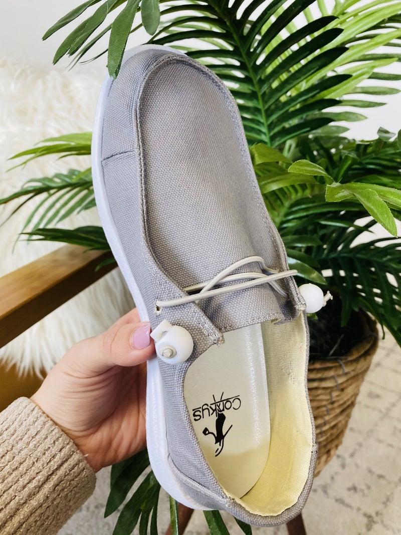 Corky's Grey Kayak Shoes