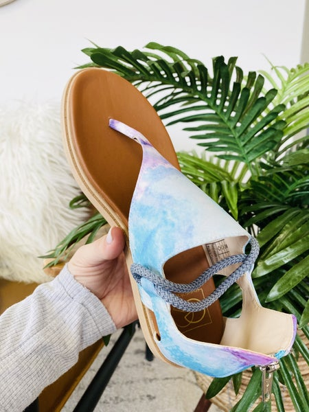 Cotton Candy Vibe Sandals