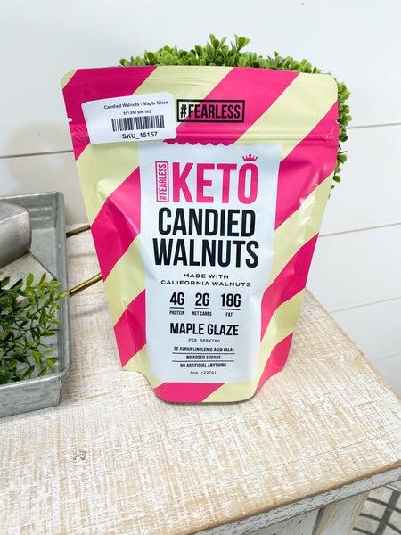 Candied Walnuts - Maple Glaze