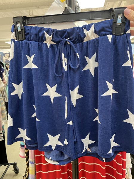 Fourth of July Night Shorts~ 2 Colors