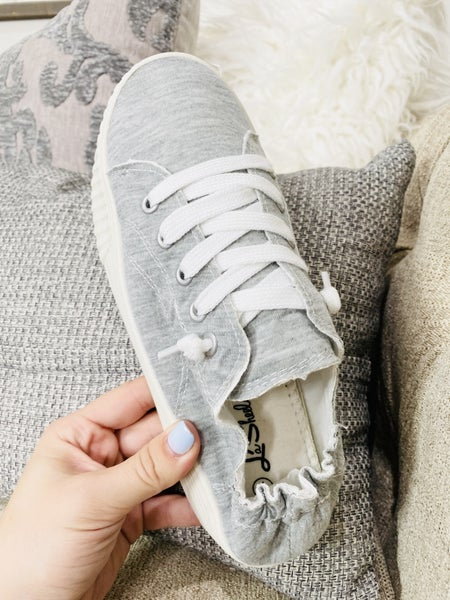 No Nonsense Grey Sneakers