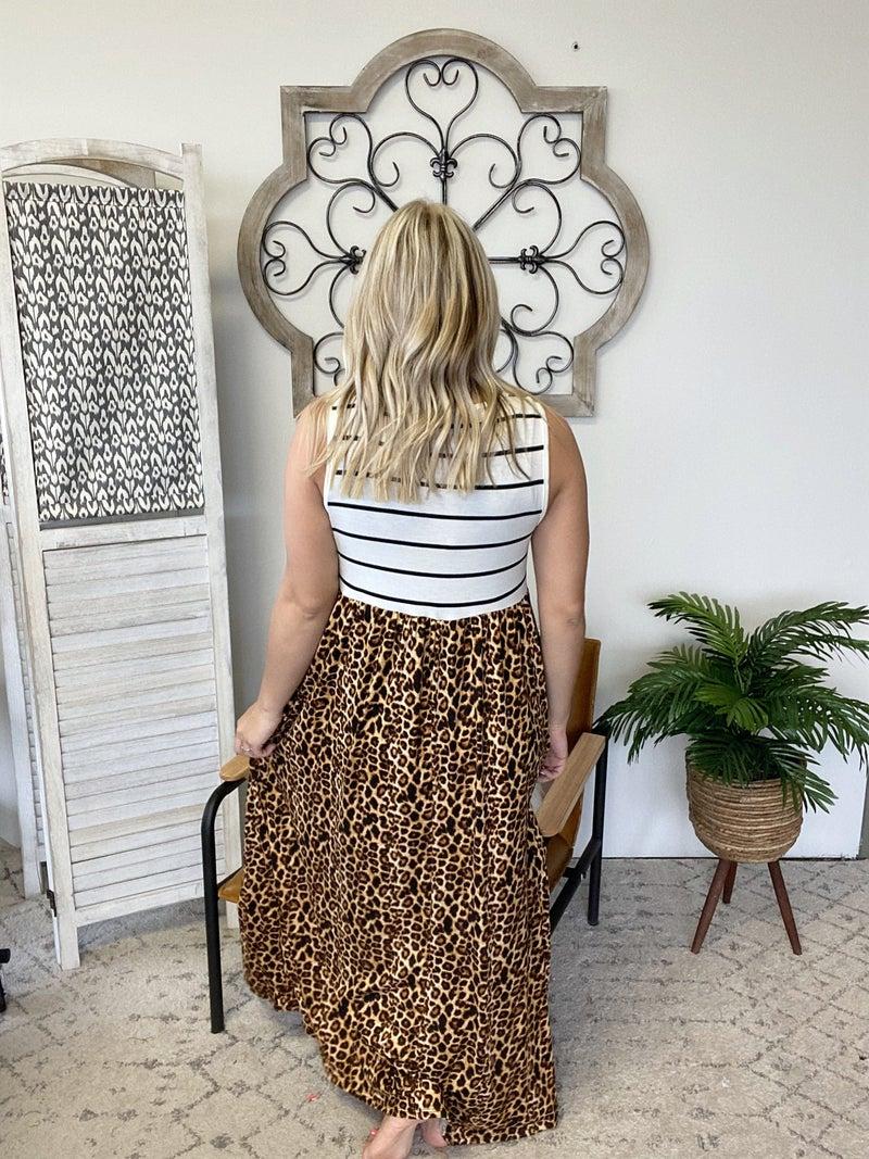 Hustling Hard Cheetah Dress