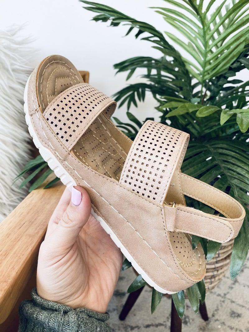 Corky Calla Natural Sandal