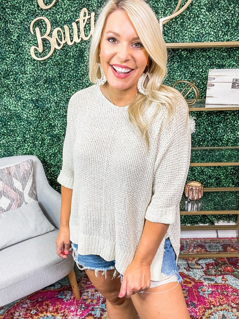 Plus and Reg- Forever Yours Sweater *Final Sale*