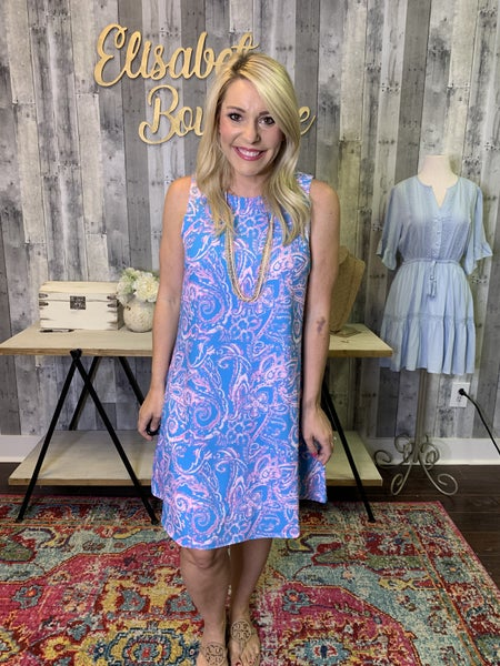 {THE PAISLEY DRESS}