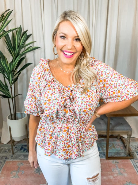 Summer Time Staple Top
