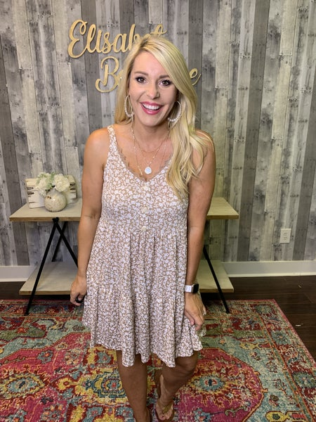 {DEAL OF THE DAY- LACED WITH LOVE DRESS}