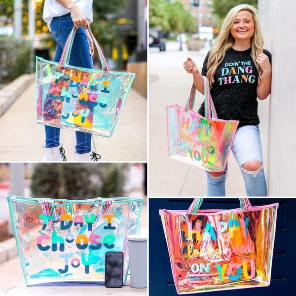 Fun in the Sun Iridescent Tote