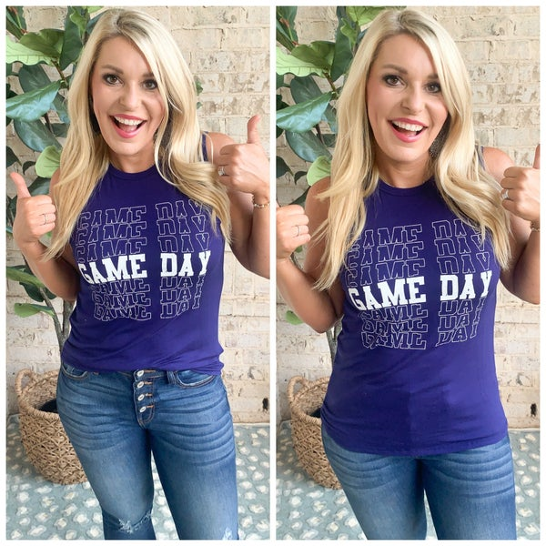 {GAME DAY TANK} *Final Sale*