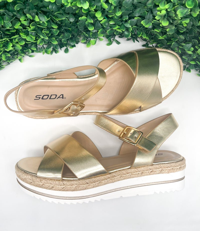 Picnic Wedge Shoes