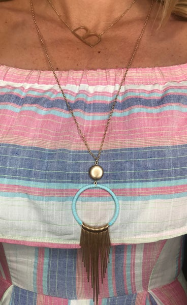 { SHINING DOWN NECKLACE}