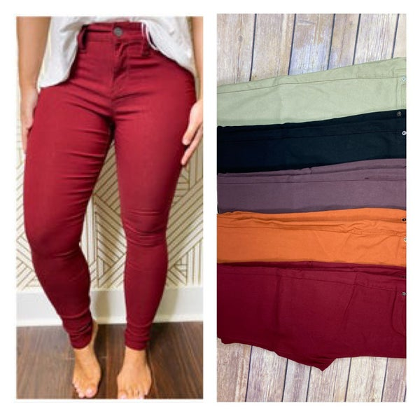 {HYPERSTRETCH SKINNIES FALL/WINTER COLORS}