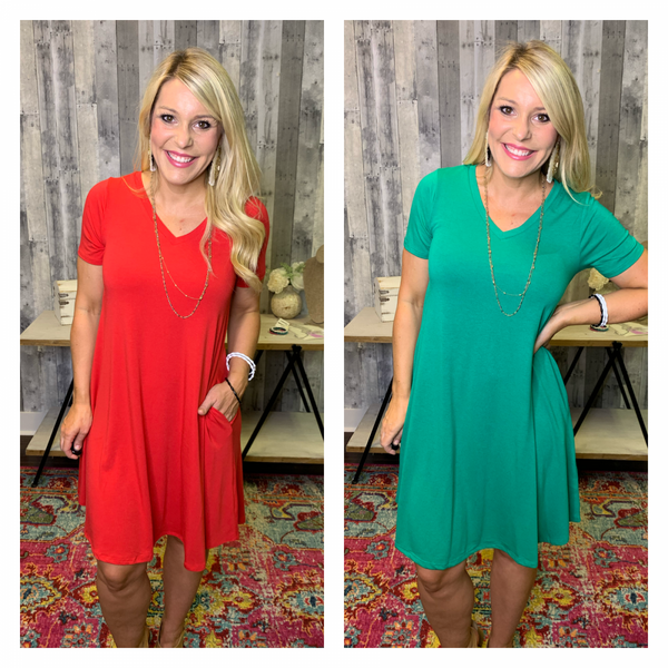 {DEAL OF THE DAY- SIMPLY PERFECT DRESS}