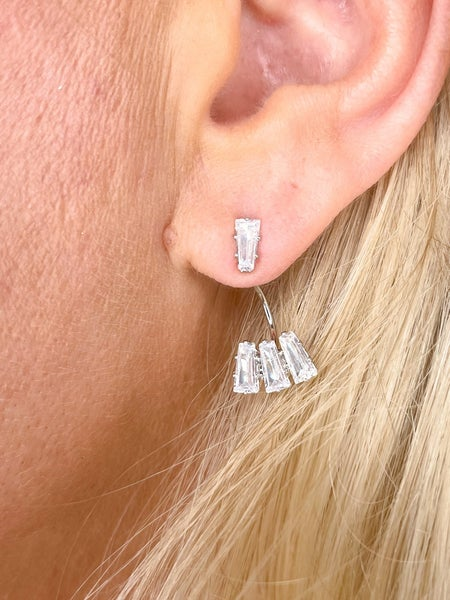 Baguette Ear Jewels