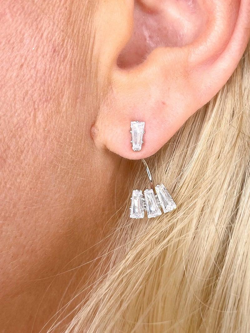 Baguette Ear Jewels