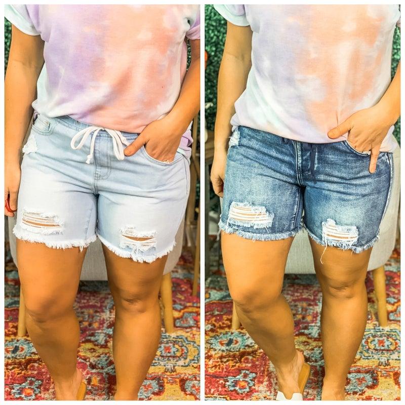 YMI Dream Jean City Shorts