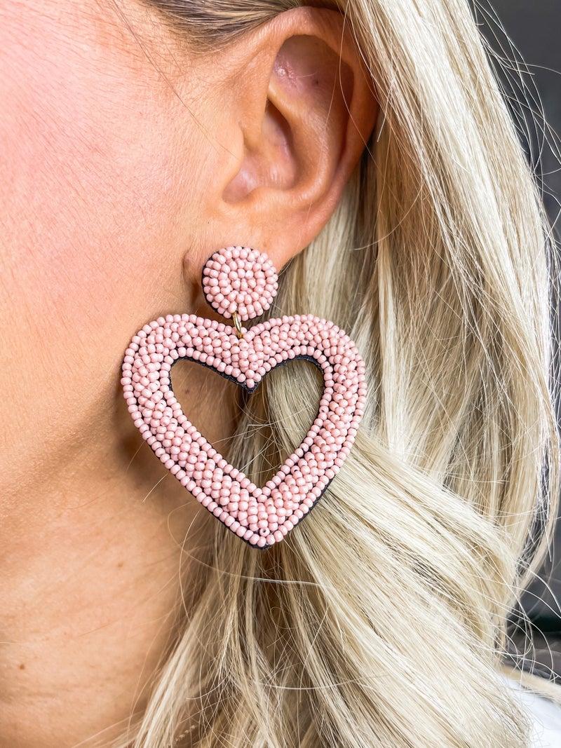 Happy Heart Earrings *Final Sale*