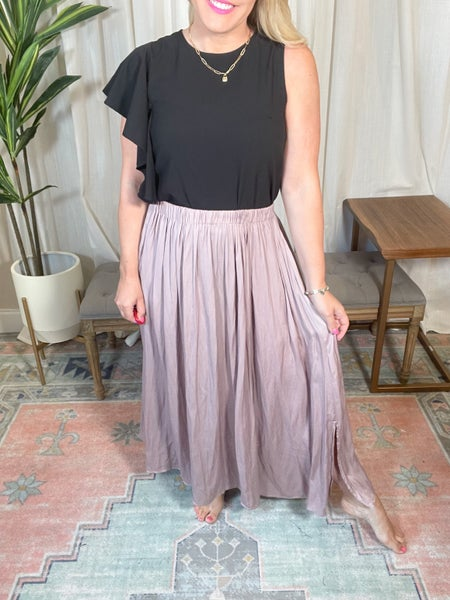 Here To Stay Maxi Skirt