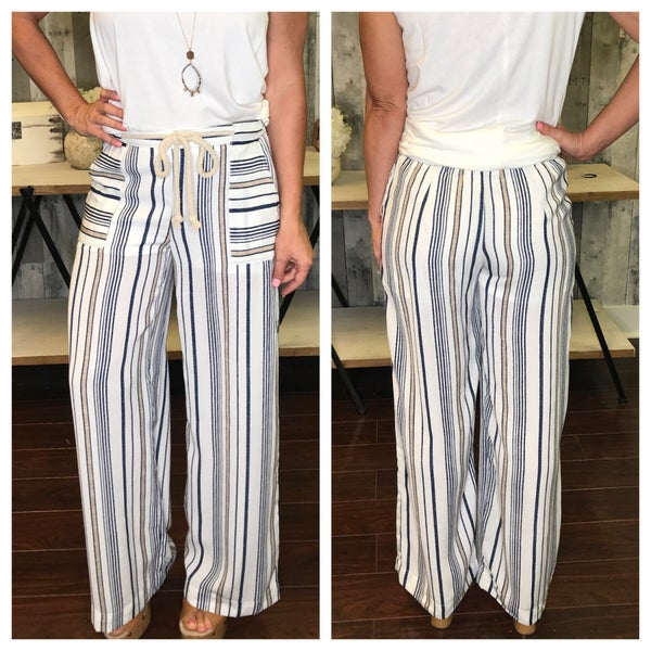 {ALL ROPED UP PANTS}