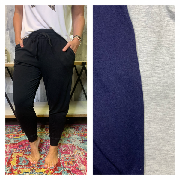 DEAL OF THE DAY- FRENCH TERRY JOGGERS}