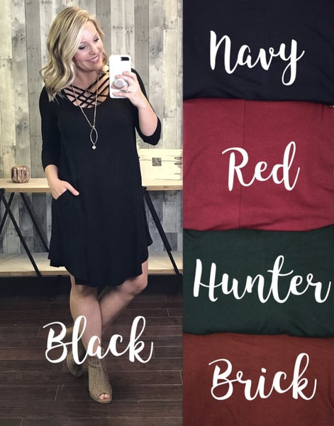 {DOORBUSTER - ITS ALL ABOUT YOU DRESS}