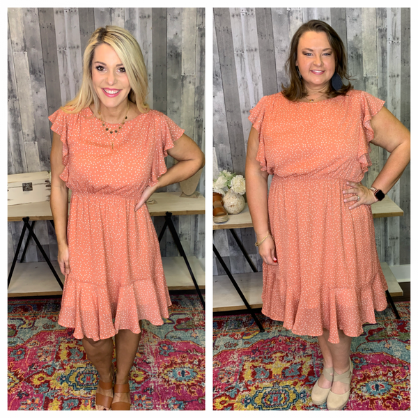 {PLUS AND REG- MAKE ME SMILE DRESS}