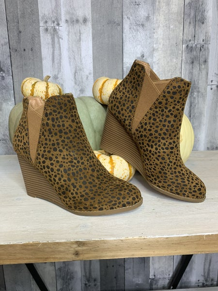{ADELE- CHEETAH BOOTIES}