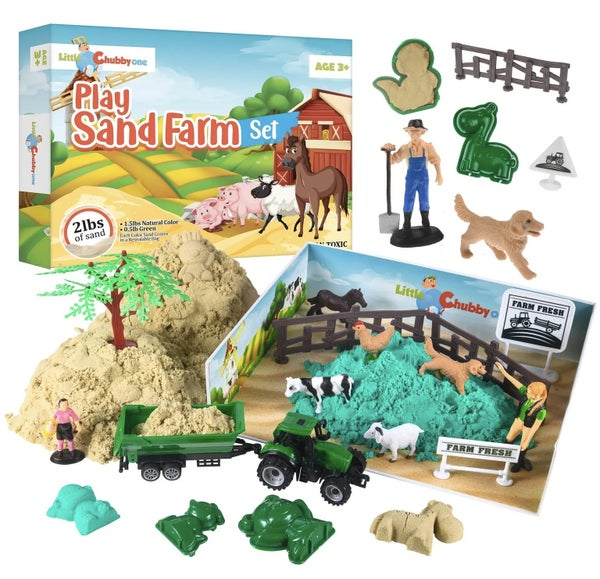 Play Sand Farm Set