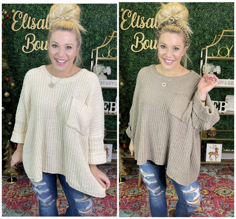 WARM AND COZY SWEATER *Final Sale*