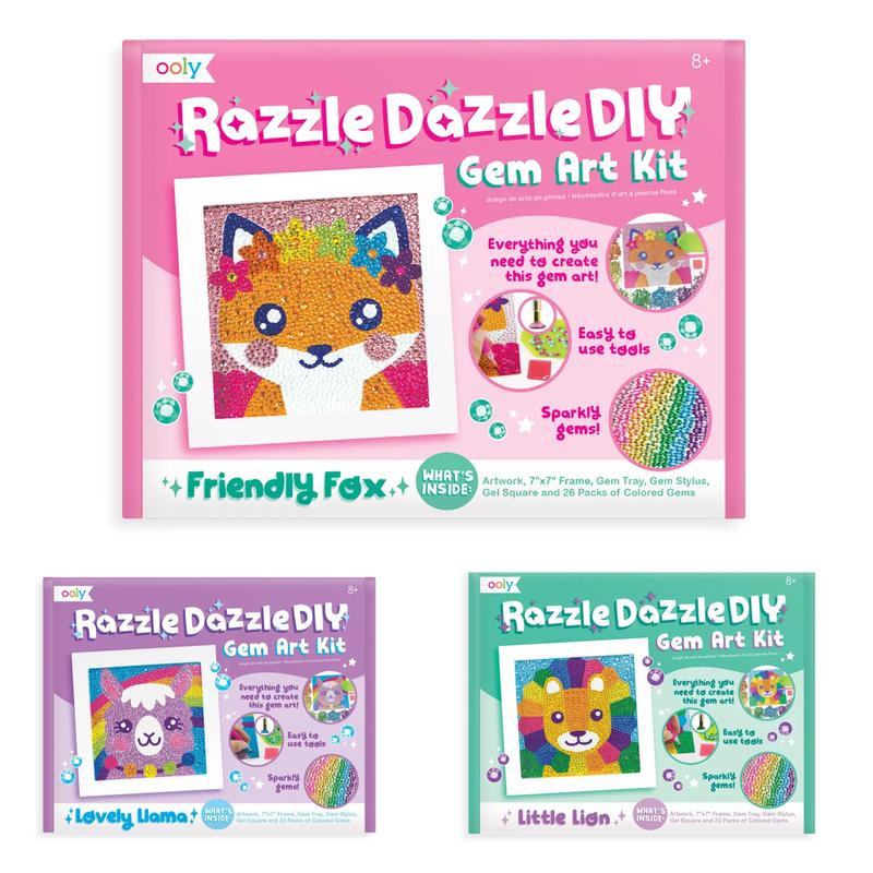 Razzle Dazzle D.IY. Gem Art Kit