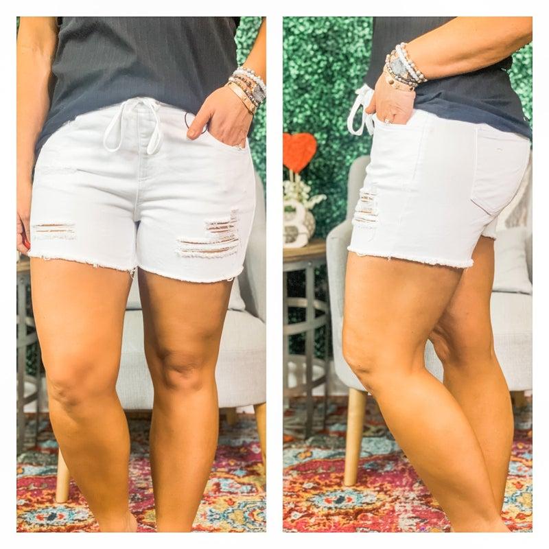 YMI Dream Jean Hi Rise Shorts