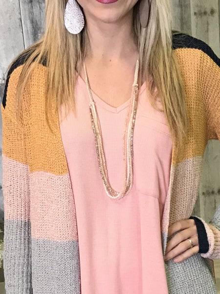 {ALL STACKED UP NECKLACE}