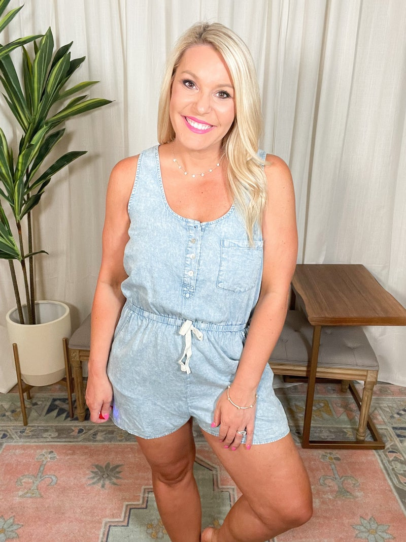 Here For The Summer Romper