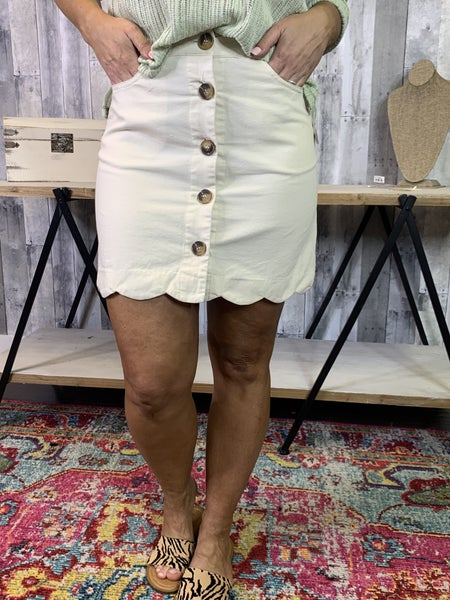 {DEAL OF THE DAY- WORK READY SKIRT}