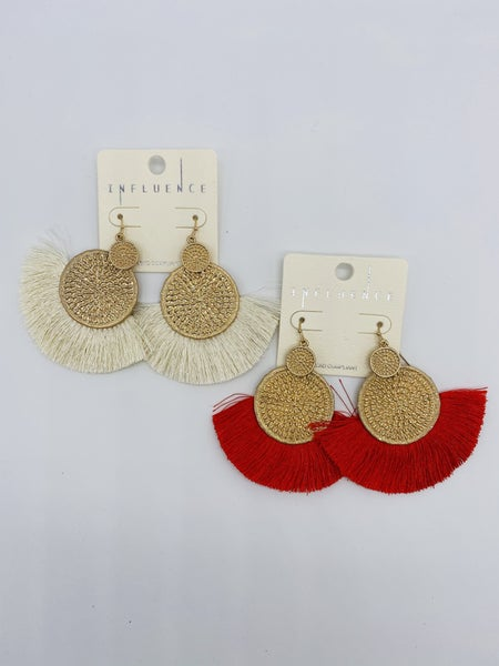 HOLIDAY GLAM EARRINGS *Final Sale*