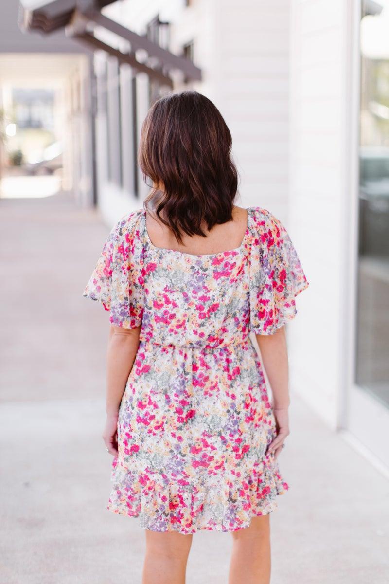 Flirty Flowy dress