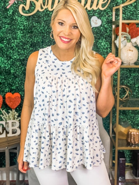 Dotted Days Top