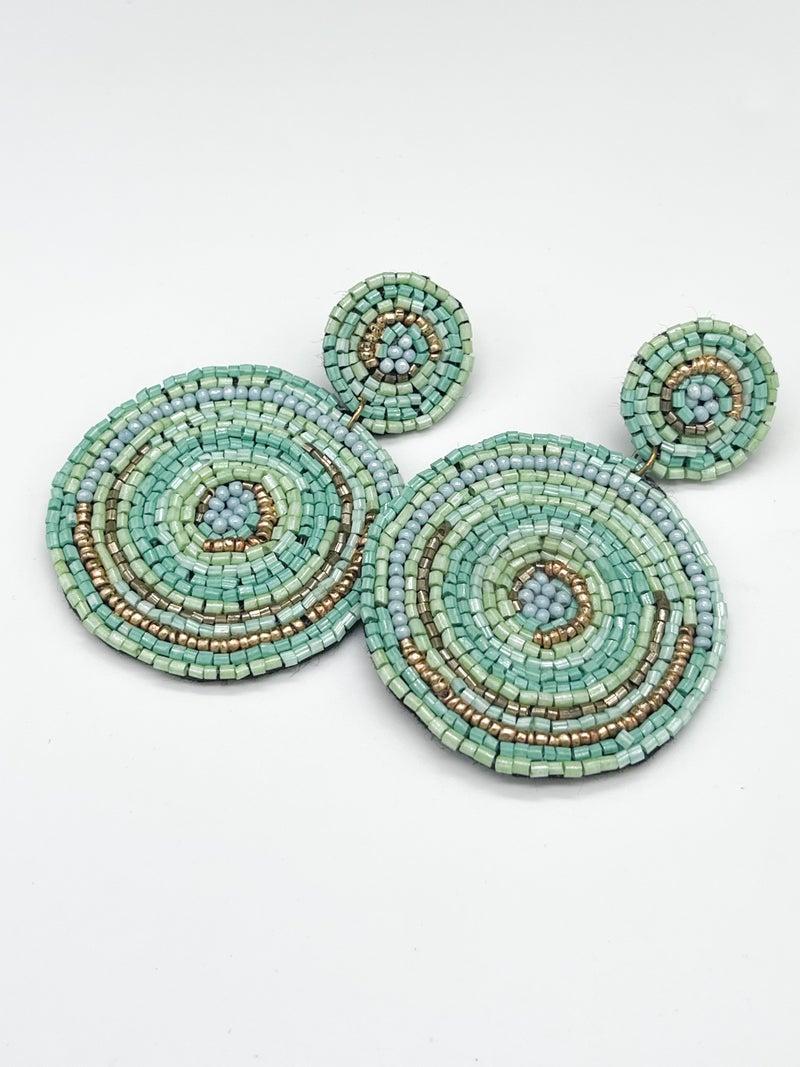Seed Bead Pop Earrings