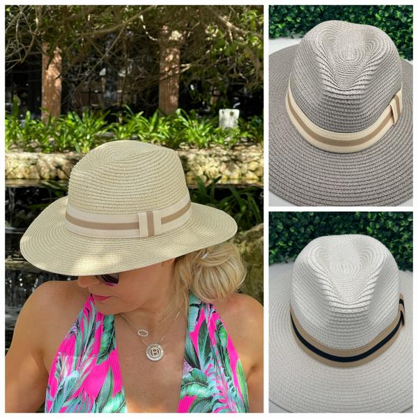 Beach Days Straw Hat