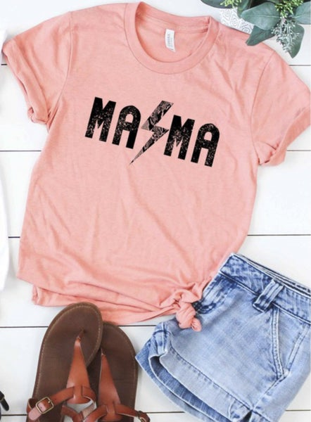 M-A-M-A Graphic Tee