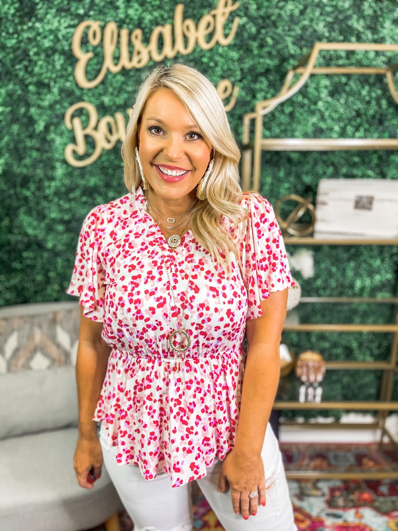 Plus and Reg- New Day Top