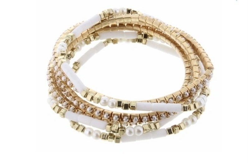 Stunning Stack Bracelet
