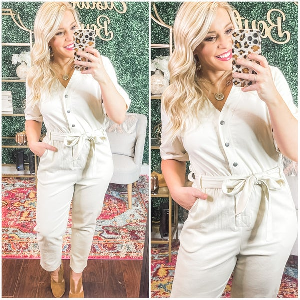 Playing with my heart jumpsuit