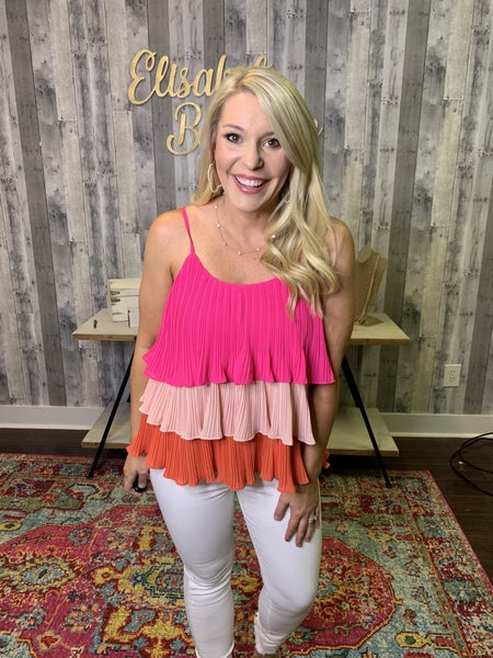 {BOLD AND BEAUTIFUL TOP} *Final Sale*