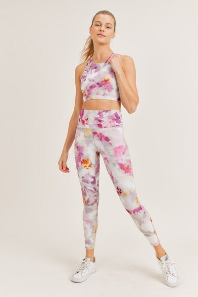 Living It Up- Mono B Sports Bra