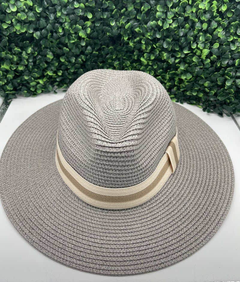 Beach Days Straw Hat