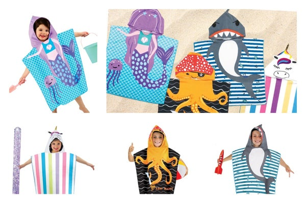 Fun In The Sun Hooded Towels