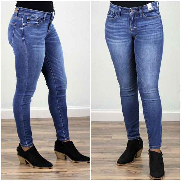 Plus and reg- Classic Judy Blue Skinnies