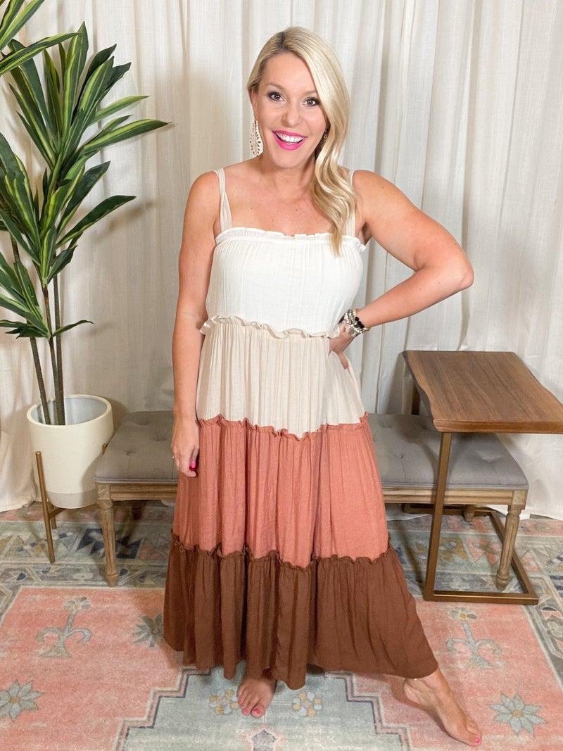 Terracotta Summer Dress